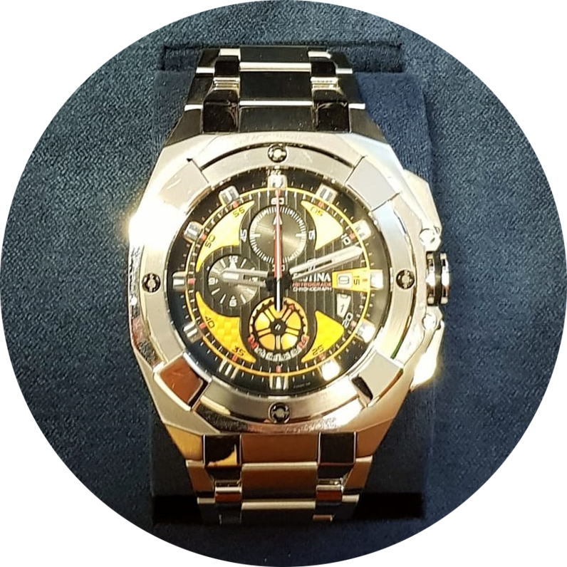 premio laurenti stigliani orologio
